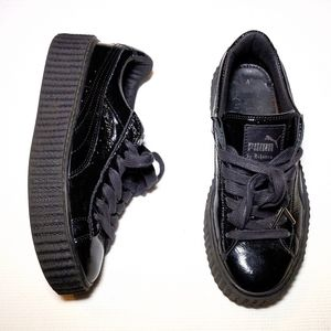 Puma x Fenty Creeper Crinkle Patent Sneakers 7